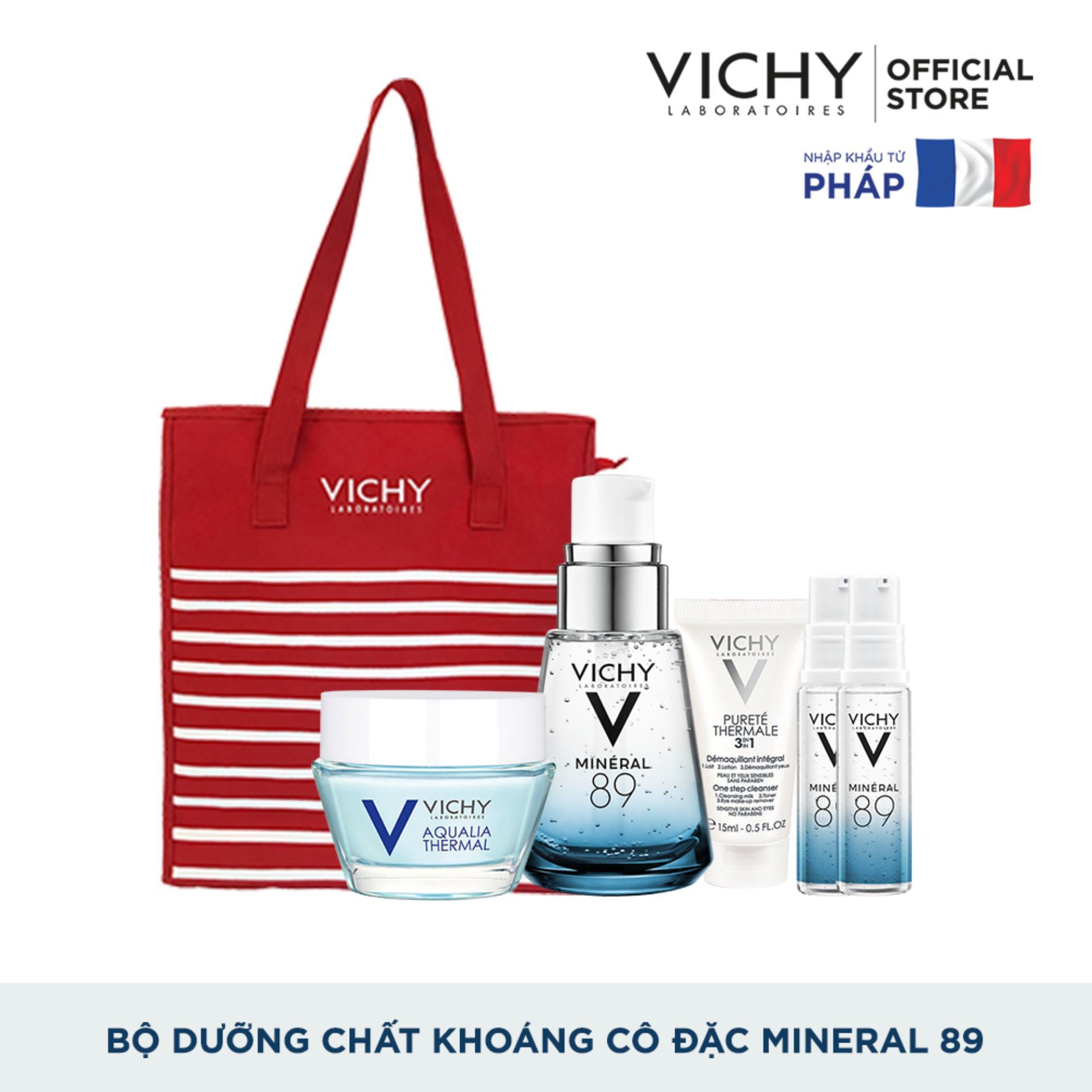 Bộ sản phẩm Dưỡng Chất (Serum) Giàu Khoáng Chất Vichy Mineral 89 30ml Giúp Da Sáng Mịn Và Căng Mượt tốt nhất