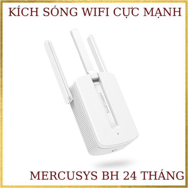 Bộ kích sóng wifi Mercusys MW300re 300Mbps 3 râu cực mạnh  bản quốc tế tiếng anh- BH 1 năm ,Kich wifi,cục hút wifi,kích sóng wifi,VDH STORE