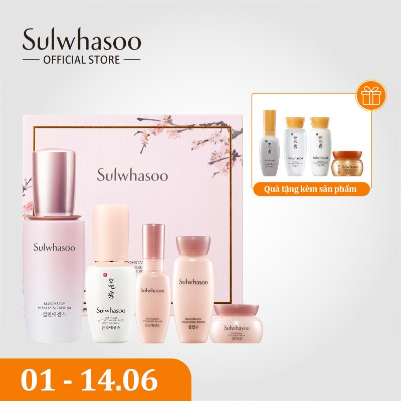 Bộ dưỡng da sáng hồng rạng rỡ Sulwhasoo Bloomstay Vitalizing Serum Set giá rẻ