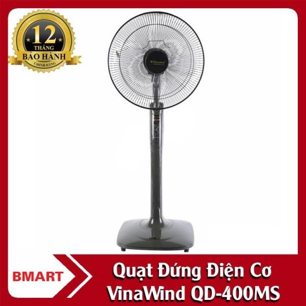 Quạt Cây Đứng Vinawind - Qđ400-Ms, Điều Khiển Cơ, Sải Cánh 400, Quạt Điện Cơ Thống Nhất