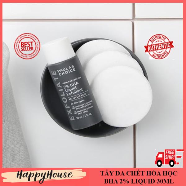 [SALE SOCK] Tẩy da chết hóa học 2% Bha liquid 30ml làm sạch mụn đầu đen Happy House