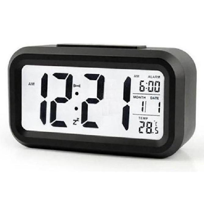 Nơi bán (TẶNG 3 PIN) Đồng Hồ Để Bàn Màn Hình Led - Đủ 5 Màu, Kèm Nhiệt Kế. Đồng hồ báo thức - Đồng Hồ Điện Tử Để Bàn - DH011
