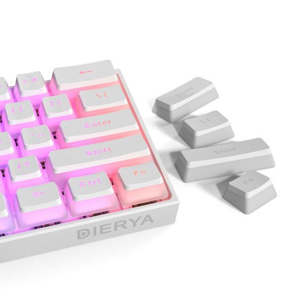 Bảng giá [Nhập ELJAN11 giảm 10%, tối đa 200k, đơn từ 99k]Bộ keycap Pudding 108 phím xuyên led Double Shot chất liệu PBT Phong Vũ