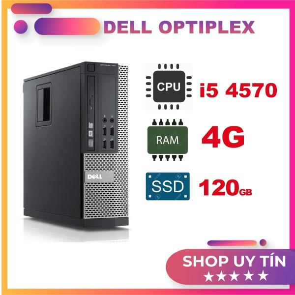 Bảng giá [HOT SALE] Cây máy tính để bàn - PC đồng bộ Dell Optiplex 3020 core i5 4570/ ram 4GB/ SSD 120GB bảo hành 12 tháng, hàng chính hãng Phong Vũ