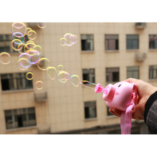 [Có Video] Máy ảnh bong bóng xà phòng mặt heo ngộ nghĩnh 3