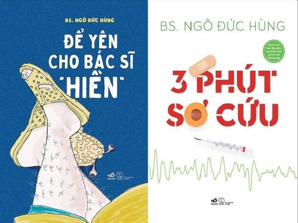 nguyetlinhbook - Combo Sách: 3 Phút Sơ Cứu + Để Yên Cho Bác Sĩ Hiền - NXB Thế Giới