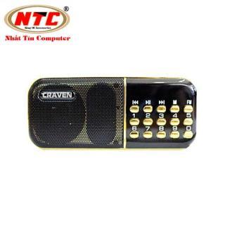 [Nhập ELAPR21 giảm 10% tối đa 200k đơn từ 99k]Loa đa năng Craven CR-25A hỗ trợ Thẻ nhớ USB FM - dung lượng pin 2200mah (Đen đỏ) - Nhất Tín Computer thumbnail