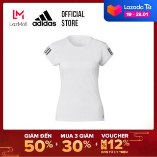 adidas TENNIS Áo phông 3 Sọc Nữ Màu trắng FK6971 thumbnail