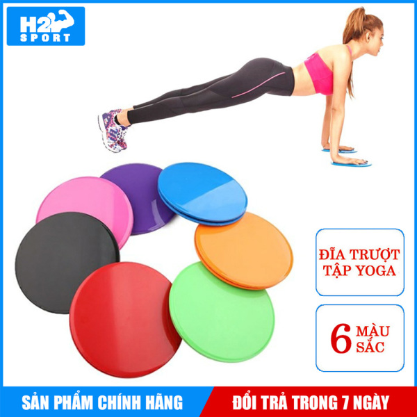 Đĩa trượt tập Yoga - Bộ 2 đĩa trượt hỗ trợ tập Yoga tại nhà