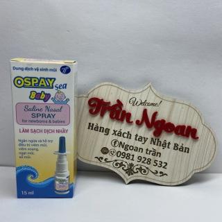 Xịt mũi Ospay Sea Baby - Lọ 15ml thumbnail