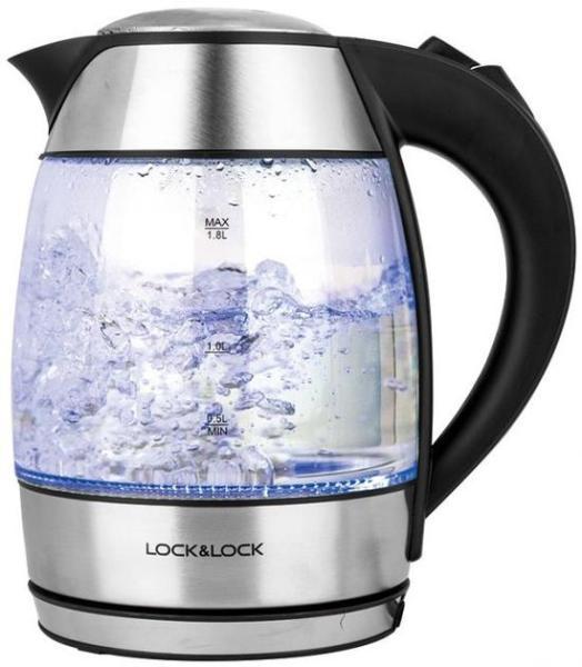 Ấm điện đun nước thủy tinh Lock & Lock EJK418SLV 1.8L