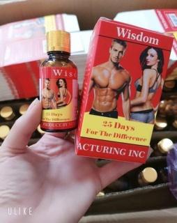 Viên uống hỗ trợ tăng cân, ăn uống ngon miêng, ngủ sâu giấc Wisdom Weight hộp 25 viên (chuẩn ảnh thật) thumbnail
