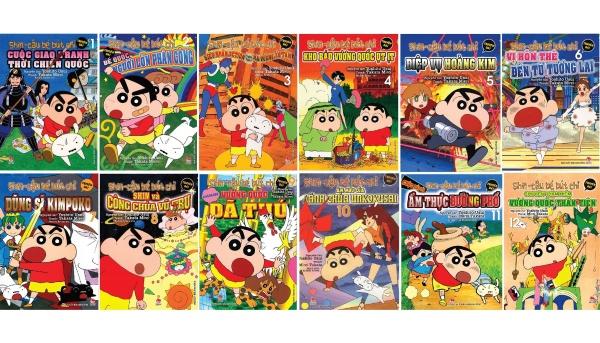Mua Sách - Combo Shin cậu bé bút chì - truyện dài - trọn bộ 12 tập