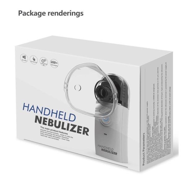 CHÍNH HÃNG - Máy xông mũi cầm tay HANDHELD NEBULIZER - bảo hành 6 tháng nhập khẩu