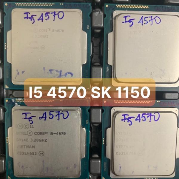 Bảng giá Bộ Xử Lý CPU I5 4570 SK 1150 Hổ Trợ SK 1150 - Vi Tính Bắc Hải Phong Vũ