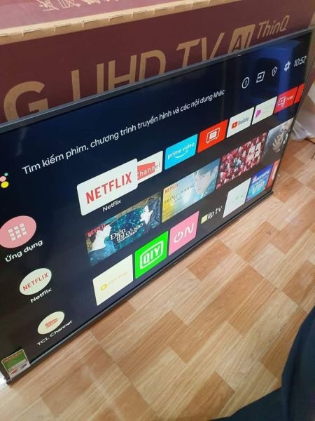 Bảng giá TCL 55inch AndroidTV 4K 2019 model L55A8 (Like new bh chính hãnh hơn 34 tháng như mới)