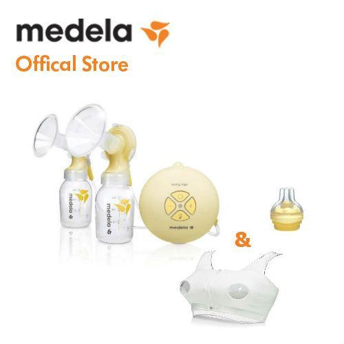 Máy hút sữa điện đôi Medela Swing Maxi - Tặng...