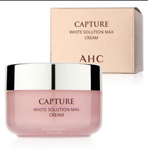 Kem dưỡng AHC da trắng hồng tự nhiên White solution cream max Hàn Quốc 50ml tốt nhất