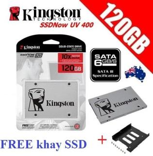 Ổ Cứng SSD Kingston UV400 120Gb - Hãng Phân Phối (BH 36T) thumbnail