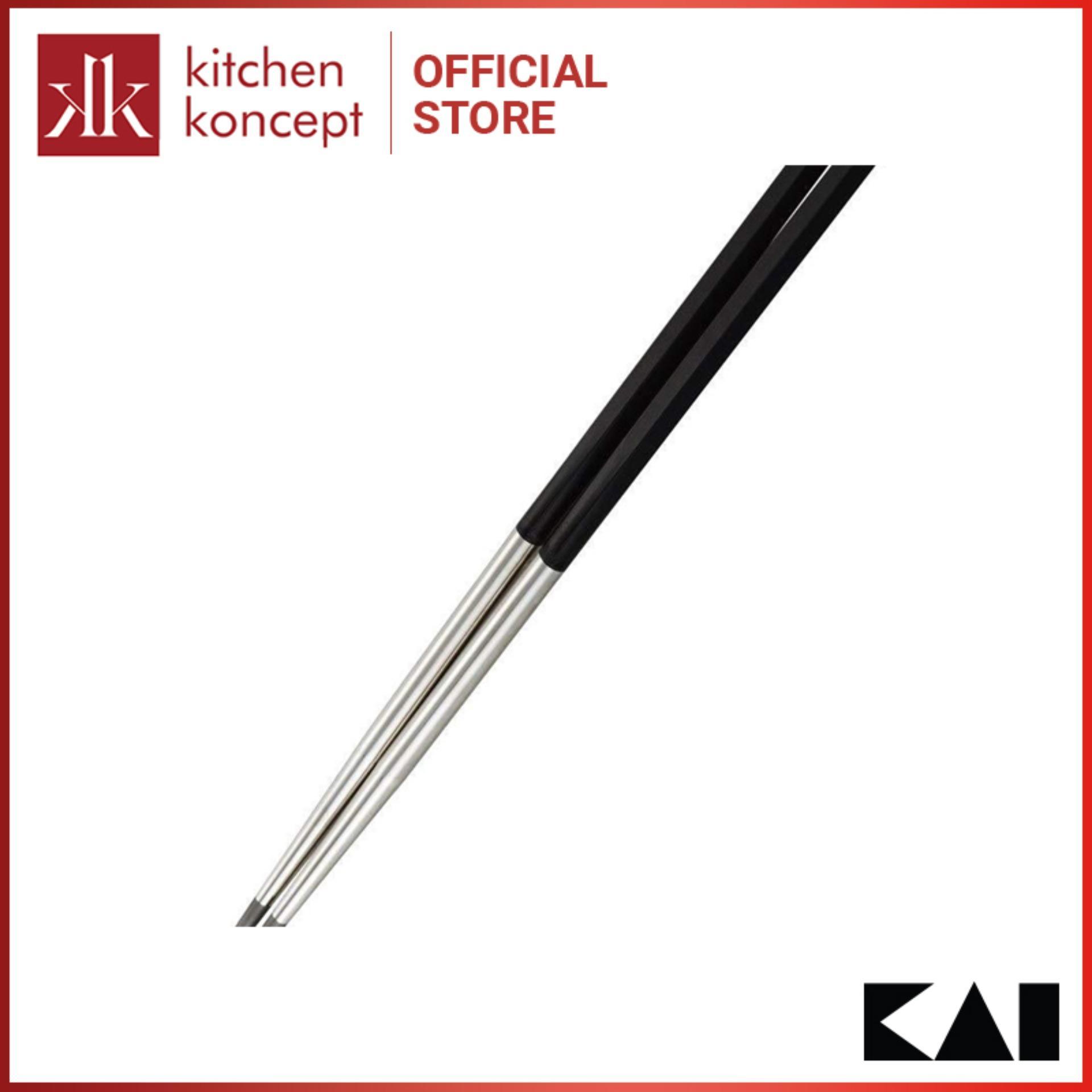 Đũa thép không gỉ  KAI - Select 100 - 33cm