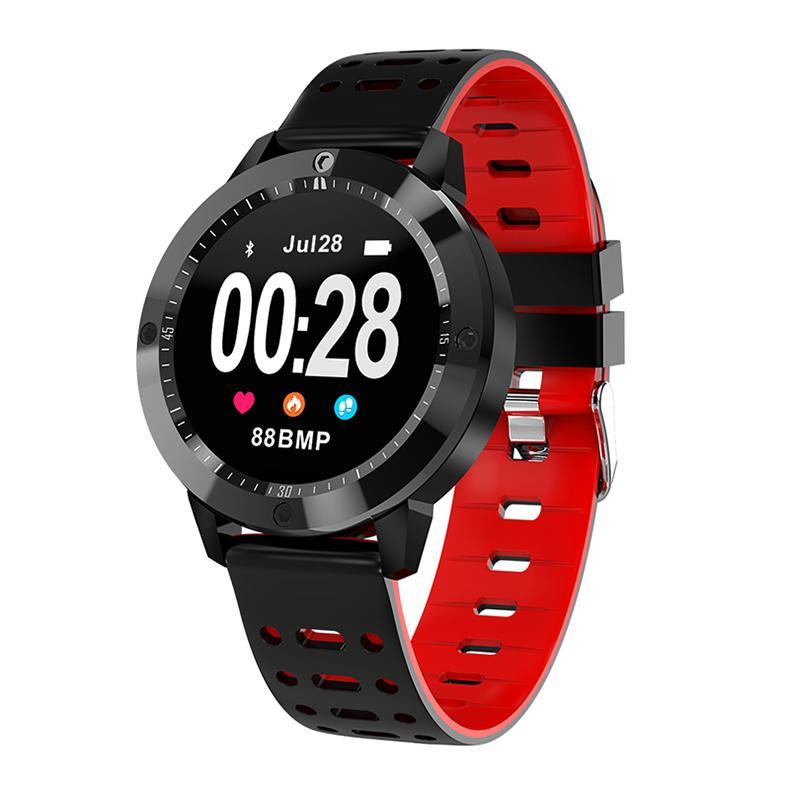 SENBONO CF58 Smart Watch IP67 Waterproof Tempered Glass Activity Fitness Tracker Heart Rate Monitor Sports Men Women Smartwatch Giá Cực Ngầu