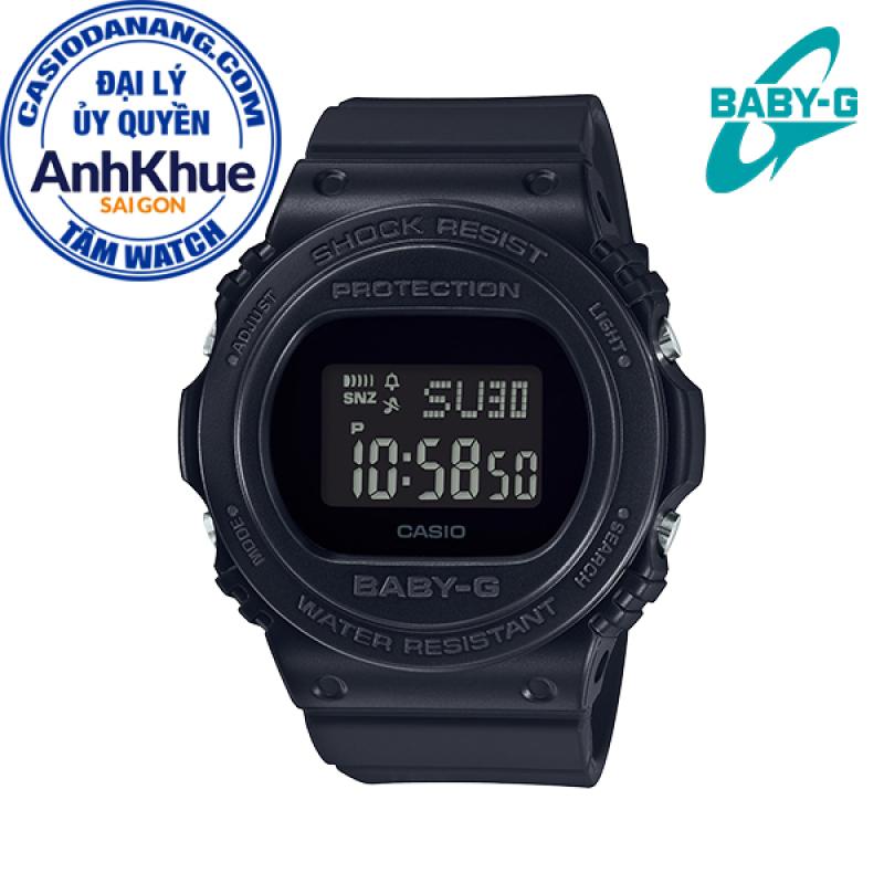 Đồng hồ nữ dây nhựa Casio Baby-G chính hãng Anh Khuê BGD-570-1DR (43mm)