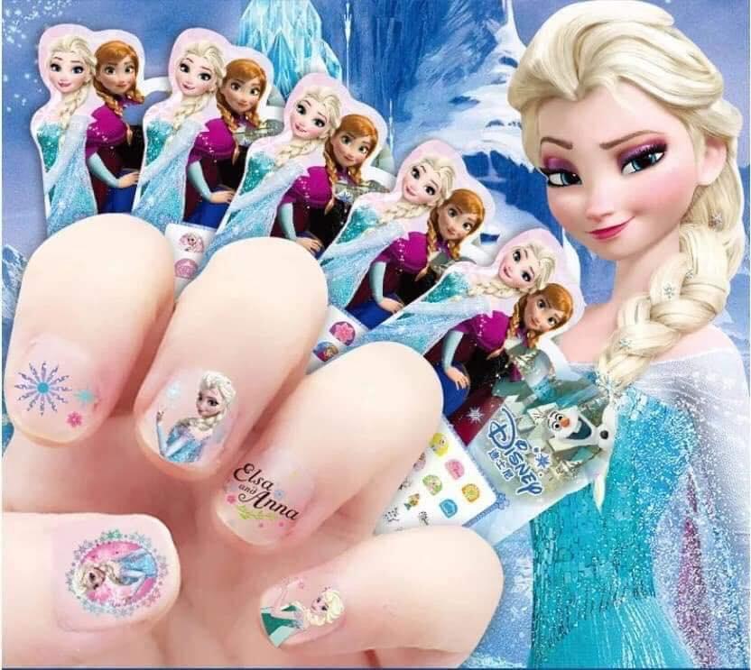 Combo 5 miếng dán móng cho bé cực yêu các hình trong  Disney tốt nhất