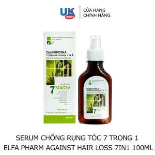 Serum Chống Rụng Tóc 7in1 Elfa Pharm Against Hair Loss 7 in 1 Intensive Hair 100ml thumbnail
