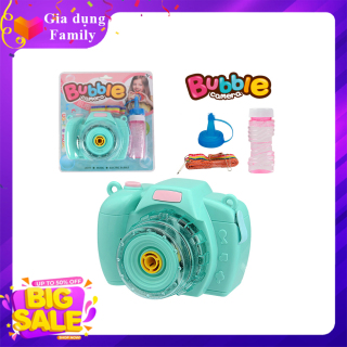 Đồ chơi máy ảnh thổi bong bóng có nhạc siêu dễ thương, món quà đặc biệt giành cho bé Không có đánh giá thumbnail
