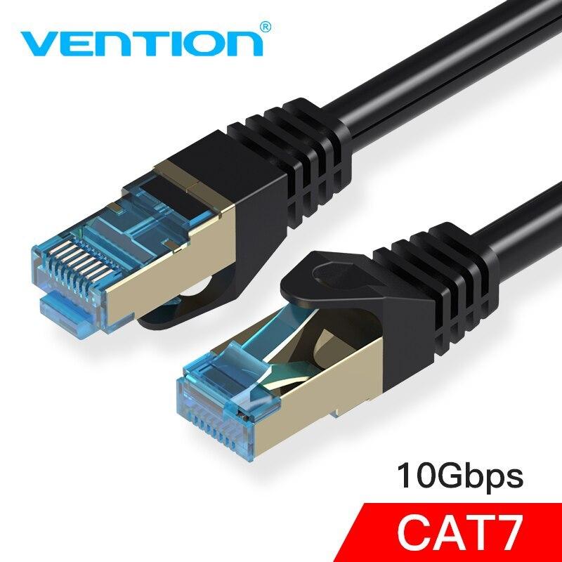 Bảng giá Dây cáp mạng CAT7 SSTP 2 đầu đúc sẵn Vention dài 1m/2m/3m/5m Vention Phong Vũ