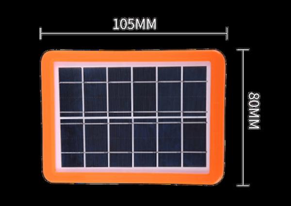 Tấm pin năng lượng mặt trời đèn Bulbs 6v/3.3w