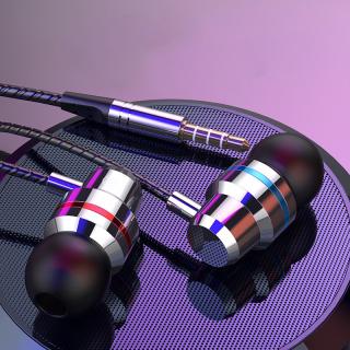 Tai nghe nhét tai có dây Sidotech Q5s thiết kế kim loại jack 3,5mm phổ biến âm thanh siêu bass dùng chơi game nghe nhạc trên điện thoại pc máy tính laptop chất lượng cao cấp thumbnail