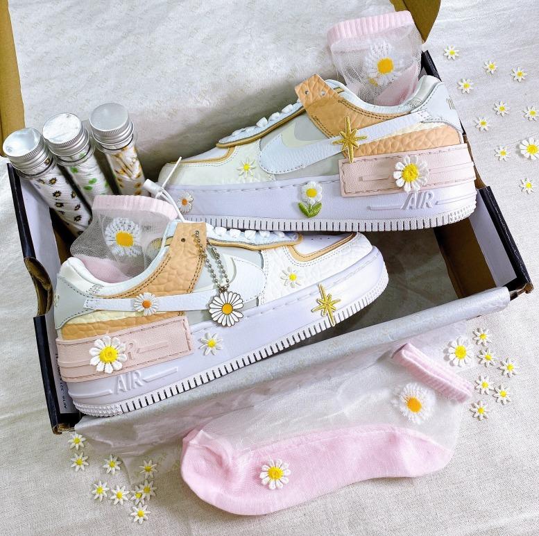 TẶNG TẤT Giày Thể Thao Sneaker shadow Hoa Cúc Đế Cao Phiên Bản G DRAGON giá rẻ