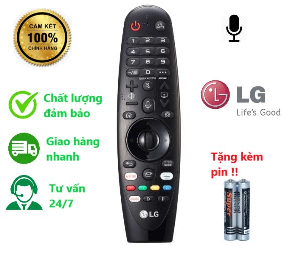 Bảng giá Remote điều khiển tivi LG mã AN -MR19BA có giọng nói ( hàng chính hãng - kèm pin - có bảo hành )