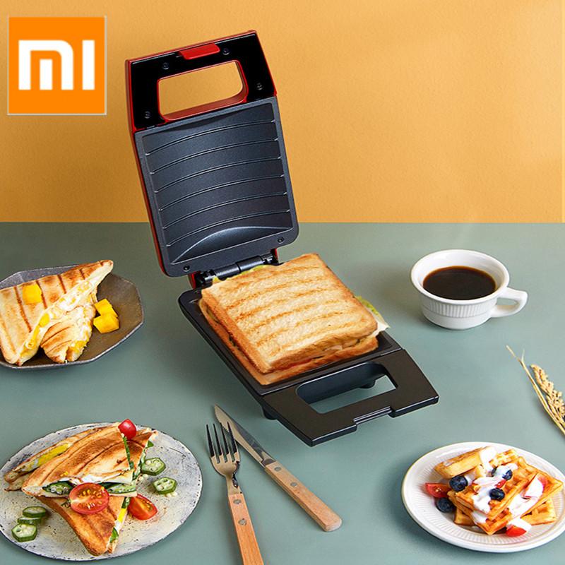 PINLO lò nướng bánh đa năng mini Mini Máy bánh mì sandwich, máy ăn sáng, lò nướng bánh mì nhiều bếp, lò nướng cơ điện, bánh mì đĩa nóng, bánh kếp, bánh quế