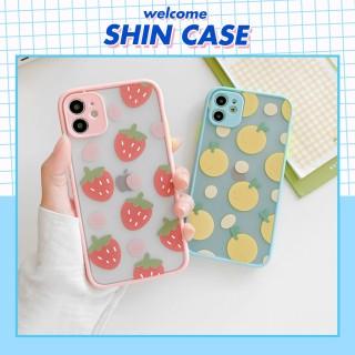 Ốp lưng iphone Fresh fruit bảo vệ camera dafnhc ho iphone 6 6S 6Plus 6SPLus 7 7PLus 8 8PLus X XS XR XSmax 11 11Pro 11Promax - ShinCase v24 thumbnail
