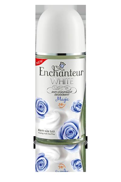 Lăn khử mùi Enchanteur trắng da hương Magic 50g