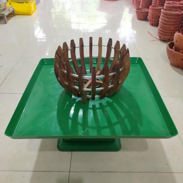Set 10 khay đựng nước , làm mát cho hoa lan - Hàng loại 1-dày dặn - chống rong rêu