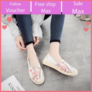 Giày lười nữ êm chân thoáng khí thời trang V228 thumbnail