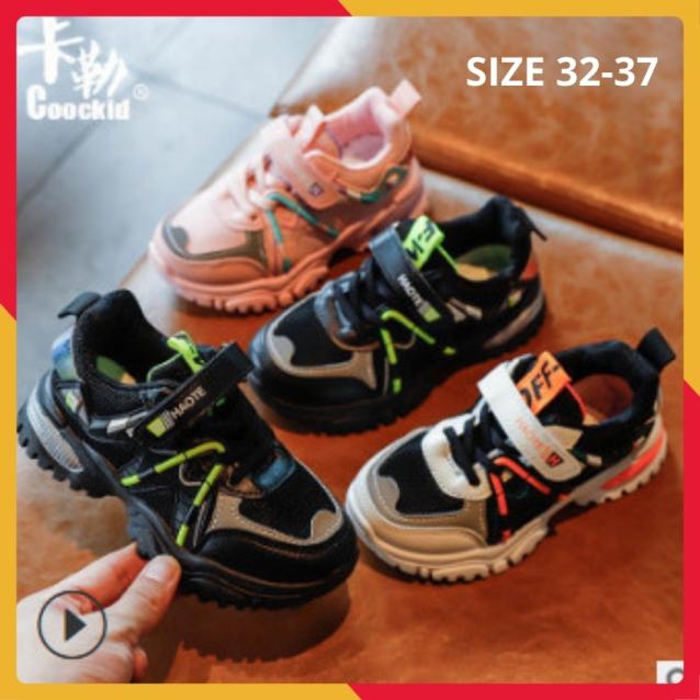 Giày Thể Thao Bé Trai Cao Cấp Siêu Mềm Nhẹ  Size 32-37 giá rẻ