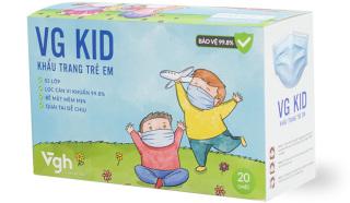 Khẩu trang y tế cho bé 3 lớp VG KID (20c hộp) thumbnail