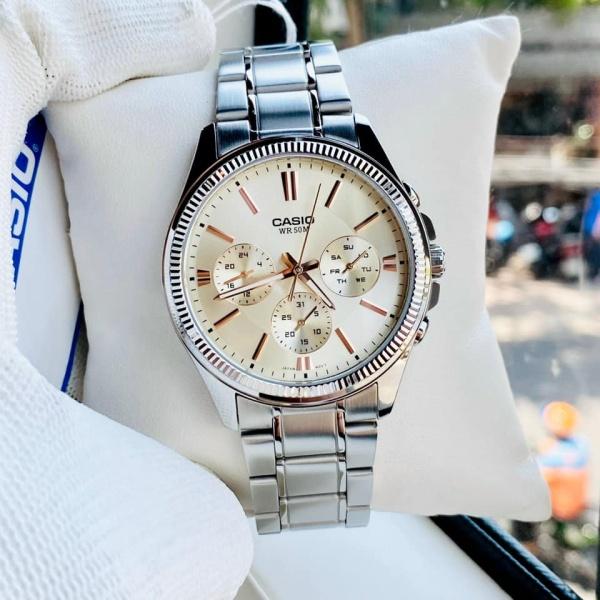 Đồng hồ nam ngầu Casio MTP 1375D-7A2VDF Bảo hành 1 năm- Pin trọn đời Hyma watch