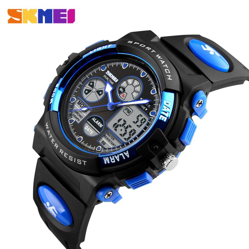 Đồng hồ trẻ em bé trai SKMEI 1163 Chống Nước 50M Có Đồng Hồ Đếm Ngược bán chạy