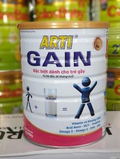Sữa Arti Gain hồng 6-36 tháng tuổi 900g thumbnail