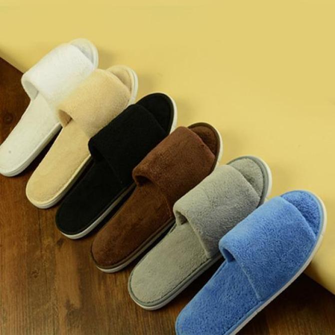 Dép đi trong nhà lót lông - Đế chống trơn trượt – Lớp lông ấm áp – Nhiều size thích hợp cho cả nam và nữ giá rẻ
