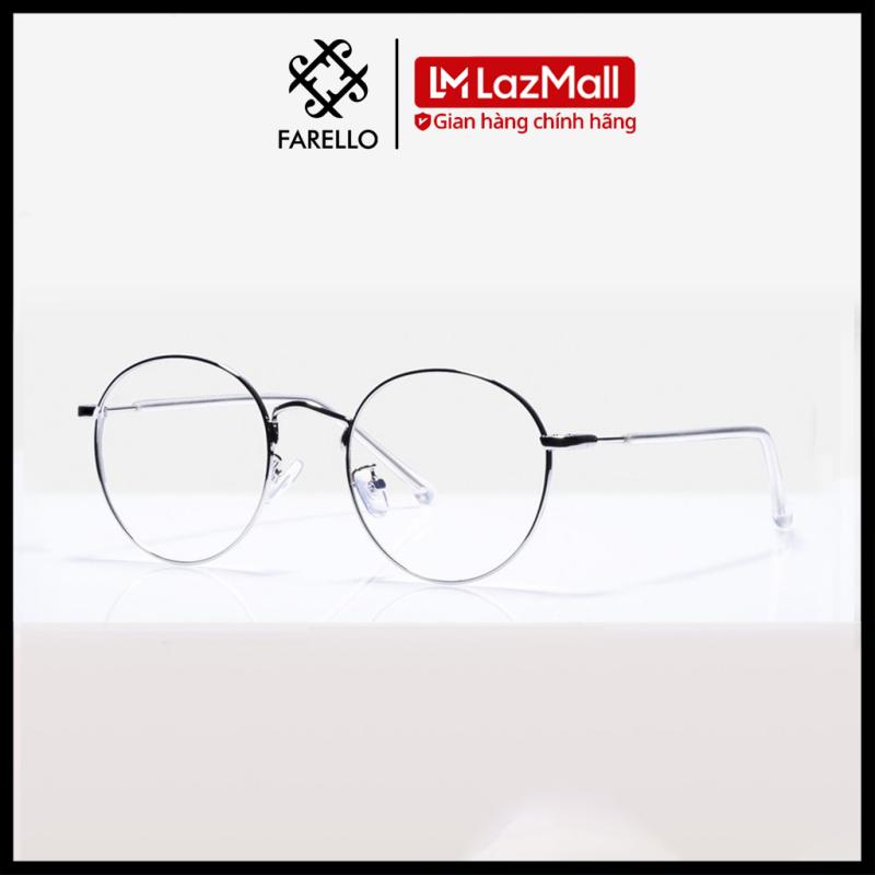 Giá bán Gọng kính cận FARELLO chất liệu kim loại phụ kiện thời trang nam nữ 9901 nhiều màu