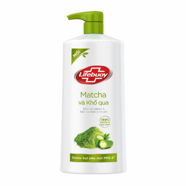 Sữa tắm Detox Lifebuoy - matcha & khổ qua (850g) giá rẻ