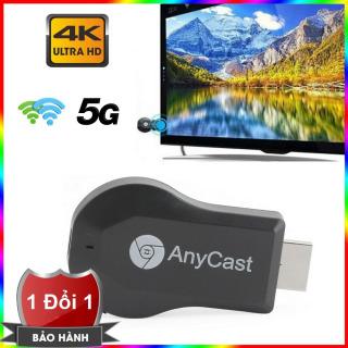 Thiết bị TV Streaming Anycast M100 4K hỗ trợ kết nối 2.4G 5G - Truyền hình ảnh và video 4K - HDMI không dây M100 4K - Thiết bị phát tín hiệu HDMI không dây Anycast M100 kết nối 2.4G 5G cao cấp thumbnail