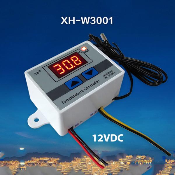 Công tắc cảm biến (sensor) nhiệt độ W3001- loại 220V hoặc 12V tùy chọn (Loại cảm biến rời có thể ngâm trong nước)