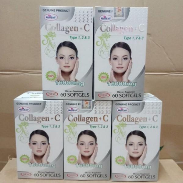 Collagen C 16000mg đẹp da, sáng da, mờ thâm, chống lão hóa Hộp 60 viên